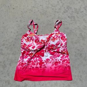 Swimsuits for All Tankini Top Floral